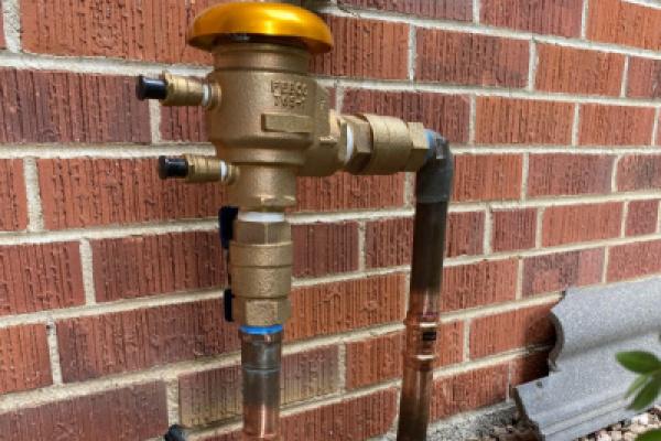 vacuum breaker for irrigation system Denver